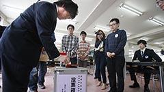 函館大に市長選、市議選の期日前投票所 住民票移さず投票権ない学生も
