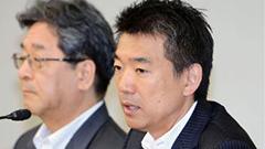 橋下市長、大阪市幹部に「申し訳ない」 住民投票否決で