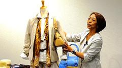 シンプルな服をかっこよく 石切山祥子さん講演会<道新プラチナひろば>