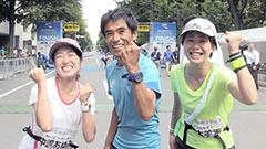 <Let'sトライ!北海道マラソン>(11)喜びと安堵の涙