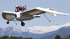 「メーヴェ」今季の試験飛行開始 滝川