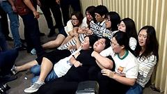 反対派妨害で混乱 元慰安婦支援財団発足 韓国