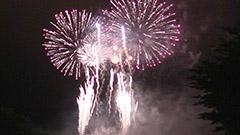 大輪に拍手と歓声 千歳で道新花火大会