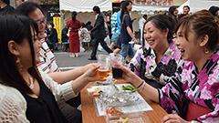 ホコテンで乾杯ススキノで縁日 飲みすぎ疑似体験も 札幌