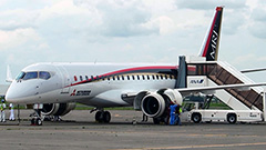 MRJが北海道・新千歳に初飛来