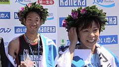 男子は木滑、女子は吉田が優勝 北海道マラソン