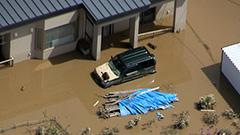 足寄で住宅地に浸水 常呂川でも冠水